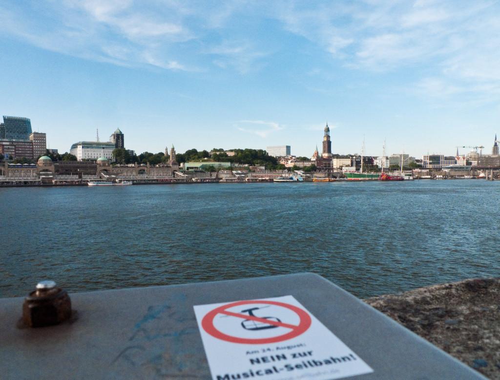 Hier im Bild: keine Seilbahn!