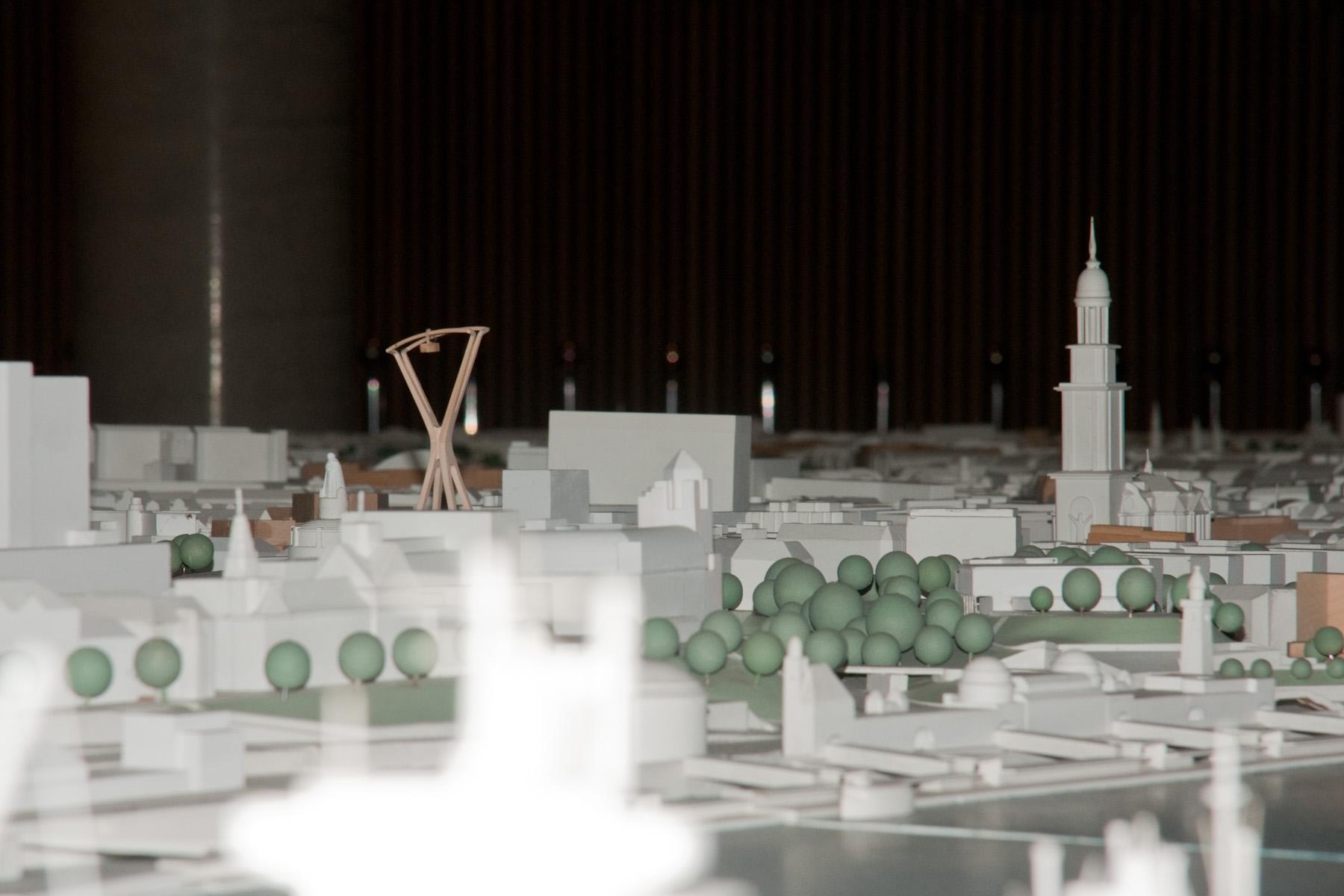 ...allenfalls im direkten Vergleich mit dem südlichen Pendant. Zusammen werden sie den Anblick der Stadt deutlich verändern und dominieren.